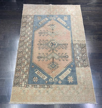 "Load image into Gallery viewer, 4'1""x6'6"" Vintage Turkish Oushak (thicker pile) Rug - Online Oriental Rugs"