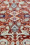 "12' x 19' Hand Made Agra Design ""Super Size Me"" Large Area Rug"