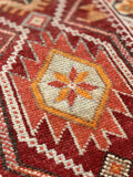 "2'9"" x 12'1"" 1960's Vintage Turkish Oushak Runner"