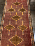 "4'4"" x 10'8"" Wide Turkish Anatolian Runner"