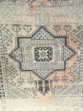"Load image into Gallery viewer, 4'1"" x 5'8"" Vintage Turkish Oushak - Online Oriental Rugs"