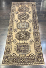 "Load image into Gallery viewer, 4'4"" x 11'2"" Vintage Turkish Oushak Runner - Online Oriental Rugs"