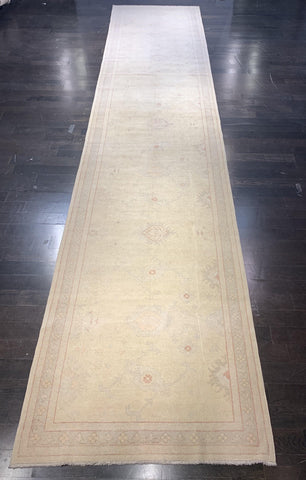 "4'6"" x 21'5"" Very Wide & Long Turkish Oushak Runner"