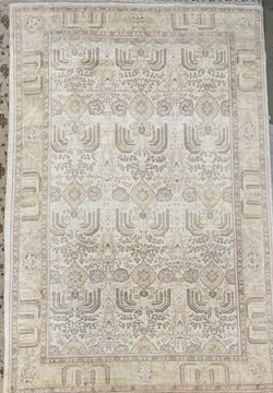 "11'10"" x 18'8"" 100% Wool Hand Weaved ""Super Size Me"" Peshawar Large Area Rug"
