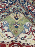 "16'1"" x 16'4"" (almost square) 100% Wool Hand Weaved Kazak  Gorgeous Large Area Rug"