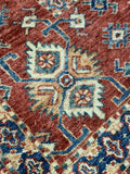 "12' x 15'2"" Beautiful Hand Weaved Super Size Me Kazak Large Area Rug"