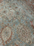 "9'10"" x 13'10"" Antique Persian Tabriz"