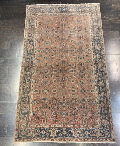 "3'7"" x  6'4"" Vintage Turkish Oushak"