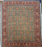 "13'3 x 16'4"" Hand Weaved 100% Wool ""Super Size Me"" Super Kazak"