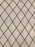 8' x 10' Moroccan Weave Beni Ourain Area Rug