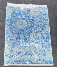 "Load image into Gallery viewer, 4'x5'10"" New Turkish Oushak with great soft colors - Online Oriental Rugs"