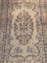 "Load image into Gallery viewer, 3'7"" x 6'6"" Vintage Turkish Oushak - Online Oriental Rugs"