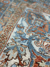 "Load image into Gallery viewer, 9'7"" x 12'9"" Gorgeous Antique Persian Heriz - Online Oriental Rugs"