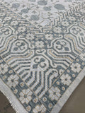"11'10"" x 14'8"" Hand Weaved Peshawar Super Size Me Area Rug"