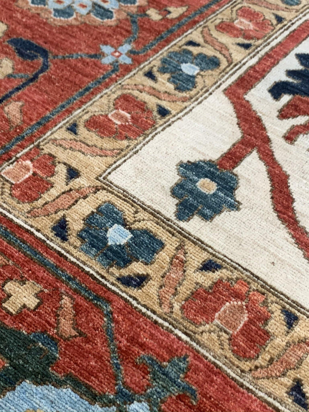 "11'8"" x 14'5"" Gorgeous Hand Weaved Kazak Super size Me Large Oversized Area Rug - Online Oriental Rugs"