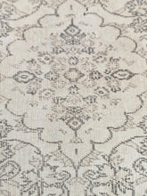 "Load image into Gallery viewer, 3'7"" x 6'7"" Vintage Turkish Oushak - Online Oriental Rugs"