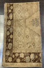"Load image into Gallery viewer, 1'5"" x 2'8"" Antique Rug ""Bit"" - Online Oriental Rugs"
