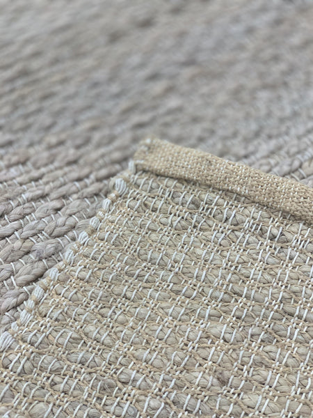 "8'9"" x 11'9"" Hand Weaved Natural Jute"