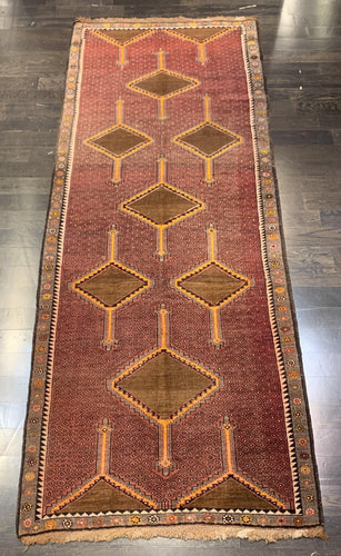 "4'4"" x 10'8"" Wide Turkish Anatolian Runner - Online Oriental Rugs"