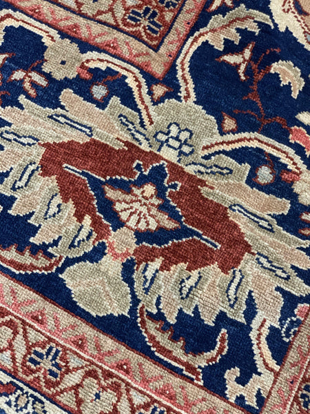 "12' x 19' Hand Made Agra Design ""Super Size Me"" Large Area Rug - Online Oriental Rugs"
