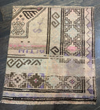 "2'1"" x2'2"" Antique Rug ""Bit"""
