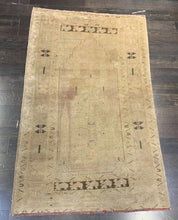 "Load image into Gallery viewer, 3'3"" x 5'6"" Vintage Turkish Oushak - Online Oriental Rugs"