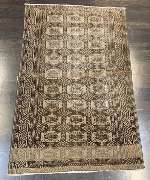 "3'3"" x 5'1"" Vintage Turkish Oushak"