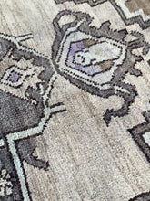 "Load image into Gallery viewer, 2'6"" x 5'6"" Vintage Turkish Oushak ""Rug Bits"" - Online Oriental Rugs"