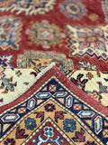"11'11"" x 15'3"" Hand Weaved Super Size Me Kazak Oversized Area Rug"