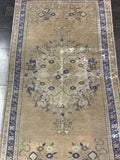 "2'9""x6' Vintage Turkish Oushak Welcome Mat"
