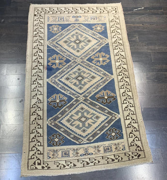 4' x 6' Vintage Turkish Oushak