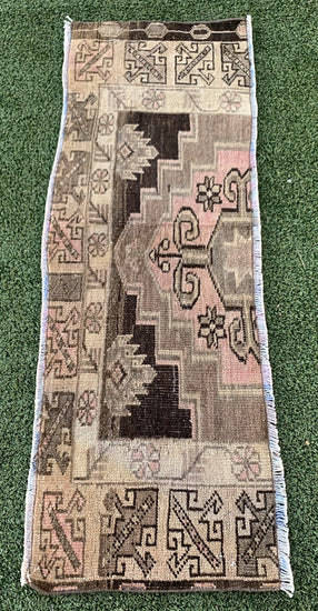 "1'7"" x 5'3"" Antique Turkish ""Rug Bit"""