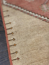 "Load image into Gallery viewer, 2'3"" x 10'7"" Vintage Turkish Oushak Runner - Online Oriental Rugs"