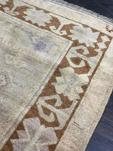 "Load image into Gallery viewer, 3'5"" x 6'8"" Vintage Turkish Oushak - Online Oriental Rugs"