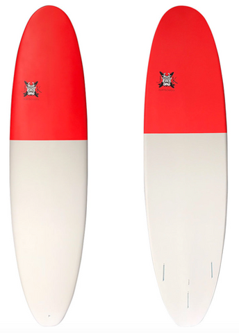 JK Surfboards Mini Log Surfboard, 7'0