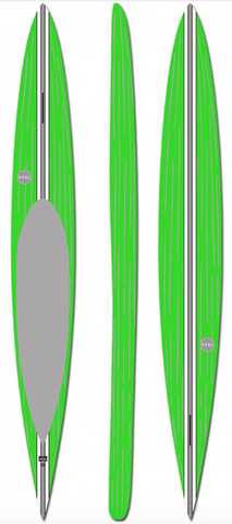 VESL 14'0 Prone Paddleboard - Brushed Green