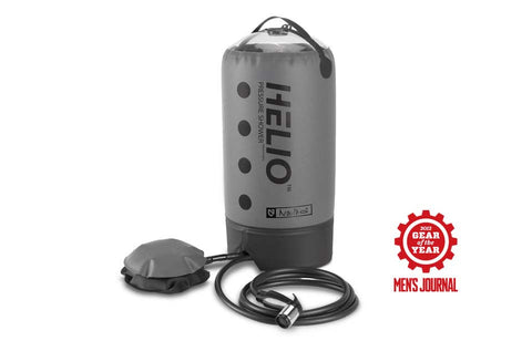 HELIO™ PRESSURE PORTABLE SHOWER