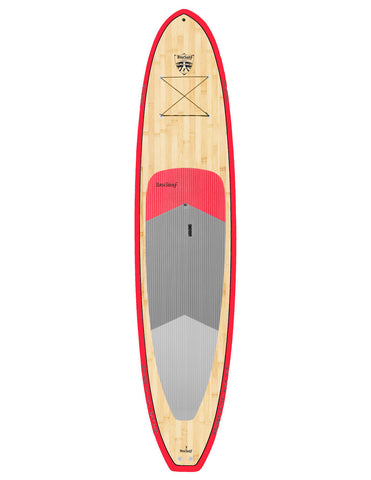 12′ Bruiser Bamboo Stand Up Paddle Board