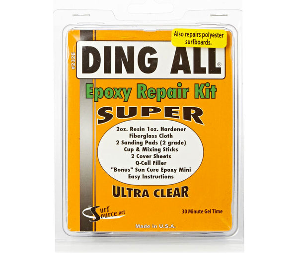 Ding All Super Epoxy Repair Kit Oceanside Up Sports