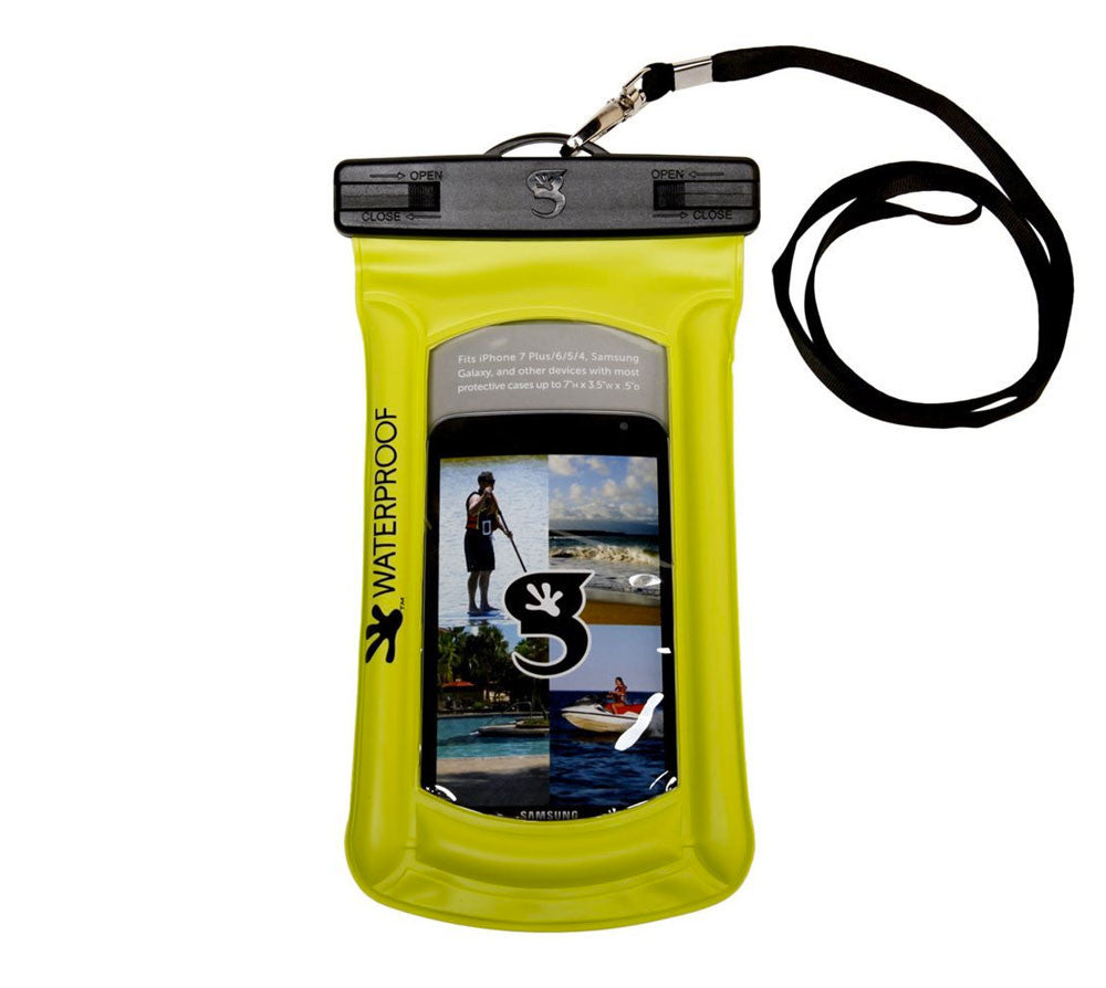 Geckobrand Waterproof Float Phone Dry Bag