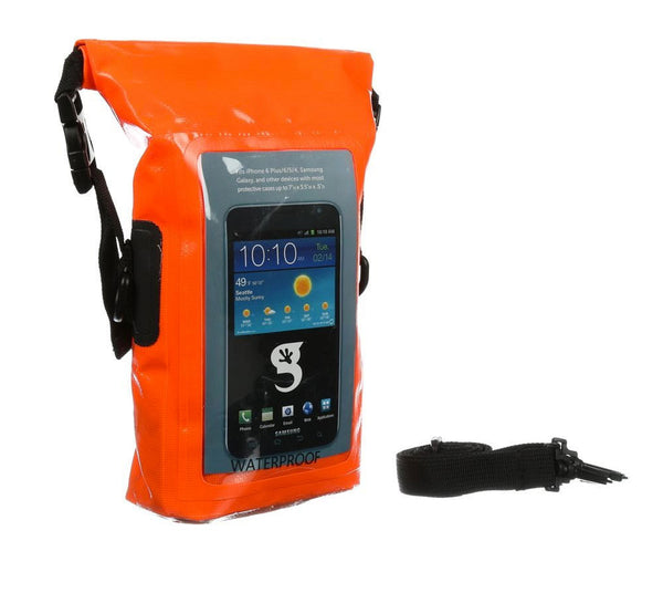 Geckobrand Waterproof Phone Tote Dry Bag