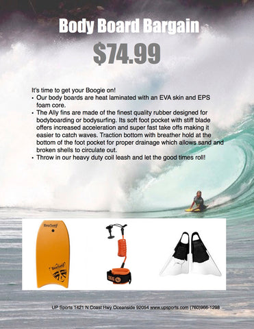 Body Board Bargain