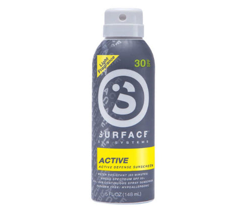 Surface Active Spray Sunscreen