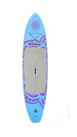 11'0 Inflatable BruSurf Snapdragon Standup Paddle Board