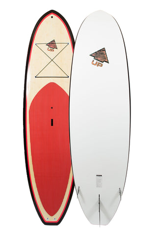 10′6 UP SurfRip Bamboo Stand Up Paddle Board
