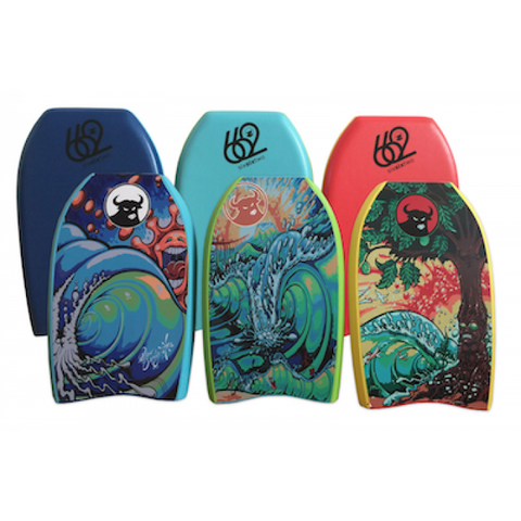 662 DREW BROPHY GRAPHIC MINI KICK BOARD 21""