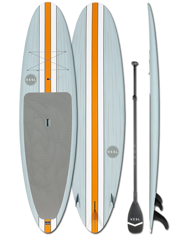 VESL Retro Ultra-Lite Lido Standup Paddle Board - Matte 10'6, 11'0, 11'6