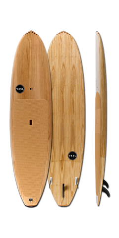 2018 VESL All Natural Series Paddle Board Paulownia