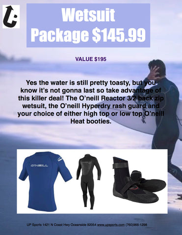 Wetsuit Package