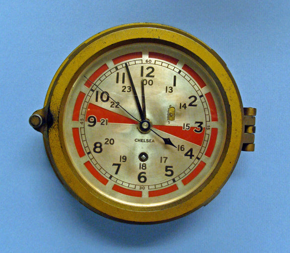 SINKING OF THE RMS TITANIC & THE RADIO ROOM CLOCK